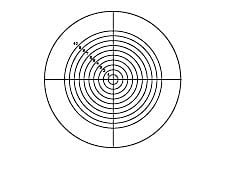 Crosshair with Concentric Circles