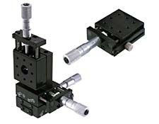 """32mm/1.25"""" Center drive stage and its X-Y-Z configuration"""