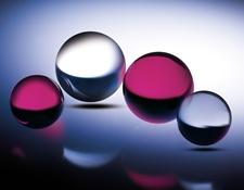 Sapphire and Ruby Ball Lenses
