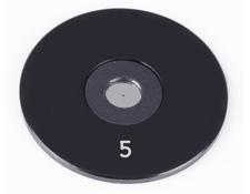 5µm Aperture Diameter, Mounted, Precision Pinhole, #56-274