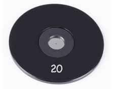 20µm Aperture Diameter, Mounted, Precision Pinhole, #56-279