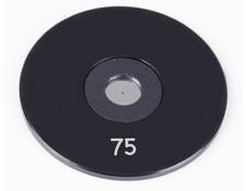 75µm Aperture Diameter, Mounted, Precision Pinhole, #84-066