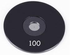 100µm Aperture Diameter, Mounted, Precision Pinhole, #56-283