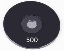500µm Aperture Diameter, Mounted, Precision Pinhole, #56-287