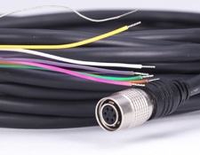 6-pin GPIO Hirose Cable with Leads