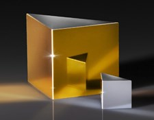Protected Gold and Enhanced Aluminum 90° Specialty Mirrors