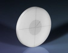 27mm Diameter, Opal Glass Concentric Circles Reticle Target, #58-771