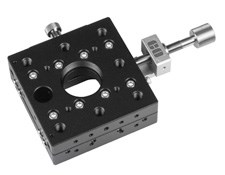 "70mm, C-Mount (1""-32 TPI) Thread Centered, Lead Screw Drive Stage (Center Drive)"