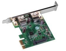 USB 3.0 PCIe 2 x 1 Port Card, #86-769