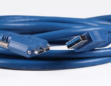 USB 3.0 Locking Cable, 3m Length, #86-770