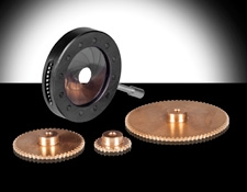High Performance Motorizable Iris and Spur Gears