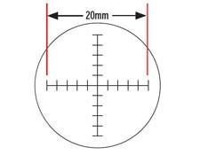 Crossline Reticle Target