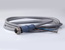 Cable with M12 Connector, 2m Length, #64-836