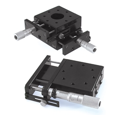"""2.62"""" Center drive stage and its X-Y configuration"""
