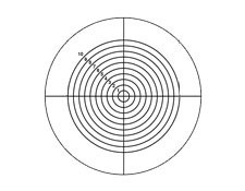 Concentric Circles Reticle Target