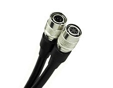 6-way Hirose Male/Female Cable