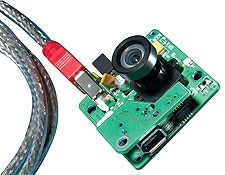 µ-Video Lens + Board Level Camera
