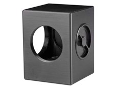 Mount Only (no optics included) for any 35mm sq x 3mm Thick Plate, #56-265