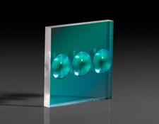 "0.6"" x 0.6"", 0.2"" FL, Aspheric Fresnel Lens, #43-021"
