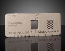 High Resolution Microscope Checker Board, #37-540