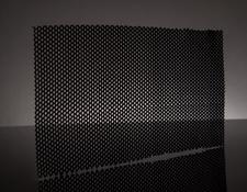 250mm x 120mm x 2mm Hexablack Sheet, #37-836