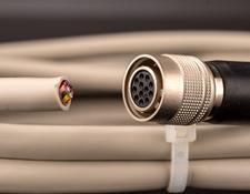 3m Length, Power I/O Cable, Hirose 12 Pin-Open, #33-133