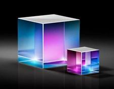High Energy Polarizing Cube Beamsplitters
