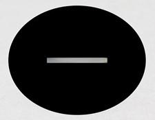 Acktar Blackened Air Slits (unmounted)