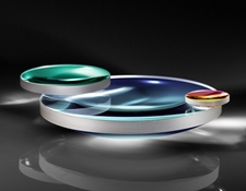 633nm Laser Line Coated Plano-Convex (PCX) Lenses