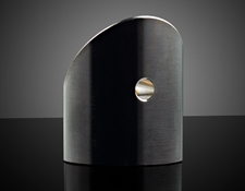 Off-Axis Parabolic Mirrors with Alignment Through Holes (Back View)