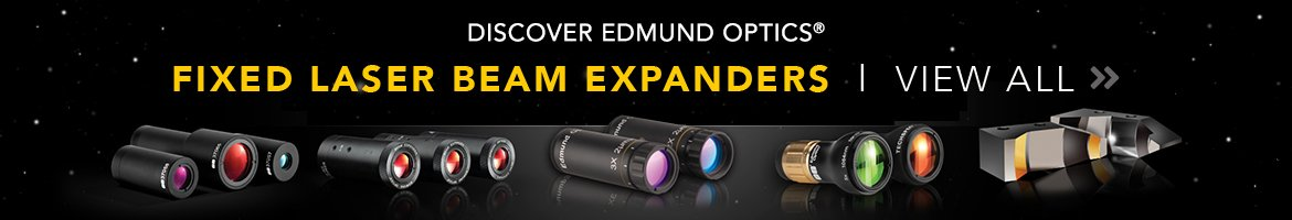 Fixed Laser Beam Expanders