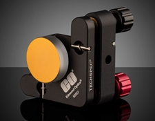 TECHSPEC® Stemmed Mirror mounted in a kinematic mount (not included)