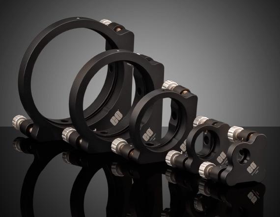 E-Series Kinematic Optical Mirror Mounts