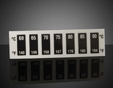 60 - 90°C Temp Range, Liquid Crystal Thermometers (10/Pack)