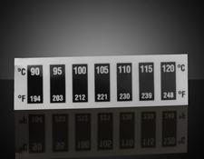 90 - 120°C Temp Range, Liquid Crystal Thermometers (10/Pack)