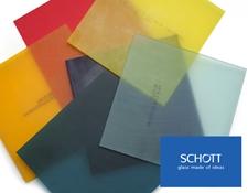 SCHOTT Matte Colored Glass Filter Plates
