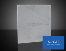 SCHOTT N-WG Glass (glass color will vary by product specification)