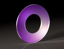25.4mm Diameter, 12.7mm Through Hole, Sapphire Window
