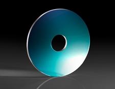 25.4mm Diameter, 6.35mm Through Hole, Sapphire Window