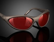 Adjustable Temples Wrap Around Frame. Image represents frame style only. Filter color will vary by product specification.